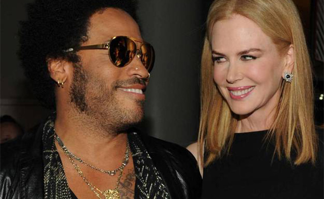 ¿Nicole Kidman comprometida con Lenny Kravitz?