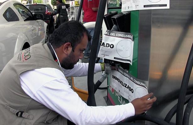 Profeco denunciará ante  la PGR a responsables  de 30 gasolineras