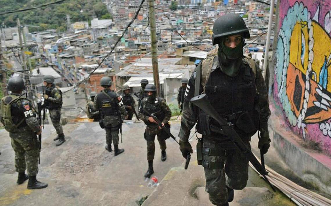 Reportan al menos siete muertos tras enfrentamiento en favela de Río de Janeiro
