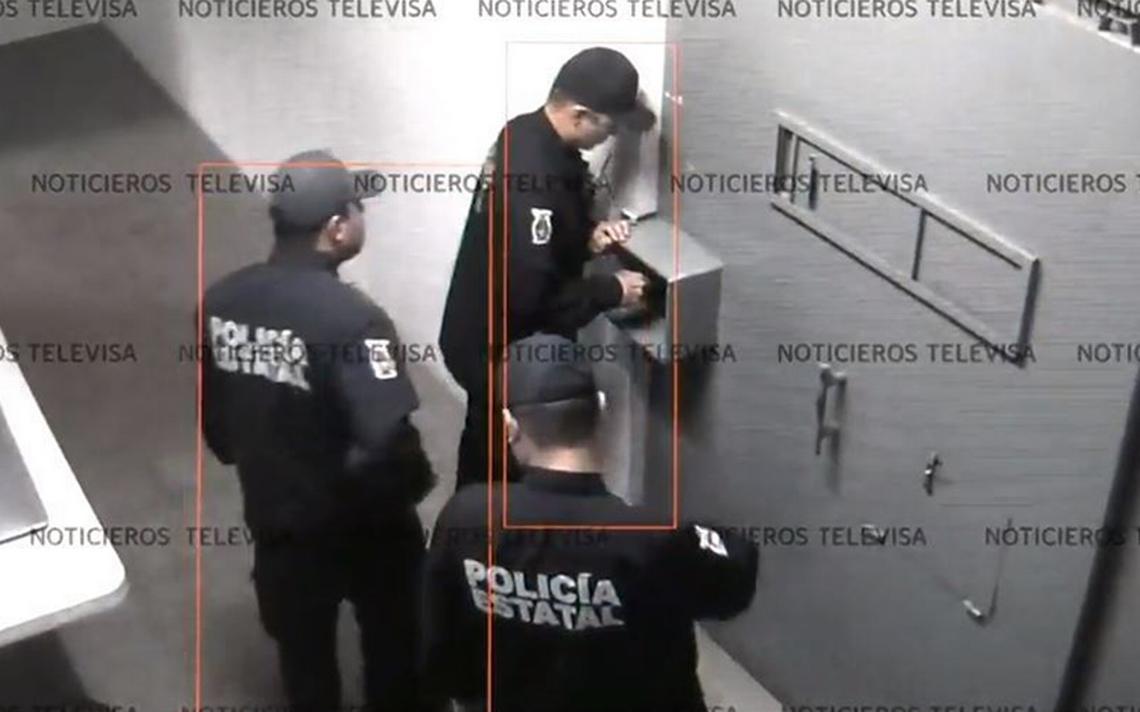 Sonríe a la cámara y se va… video revela la fuga de reos en Sinaloa