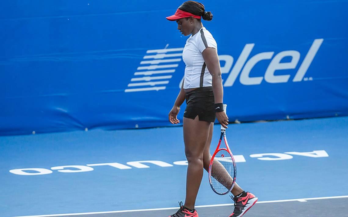 La tenista Sloane Stephens dijo adiós al Abierto de Acapulco