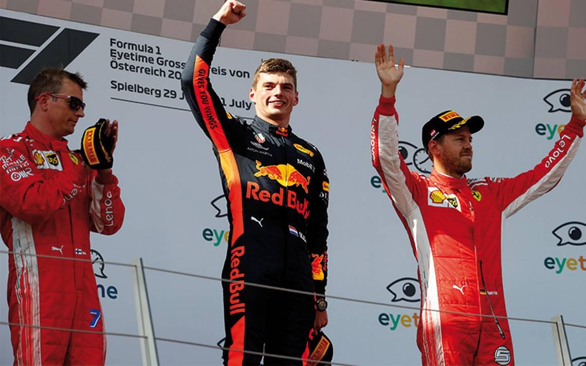 Max Verstappen triunfa en Gran Premio de Austria