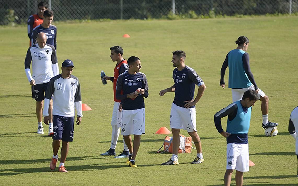 Rayados del Monterrey continúa su preparación de cara a la semifinal ante Morelia