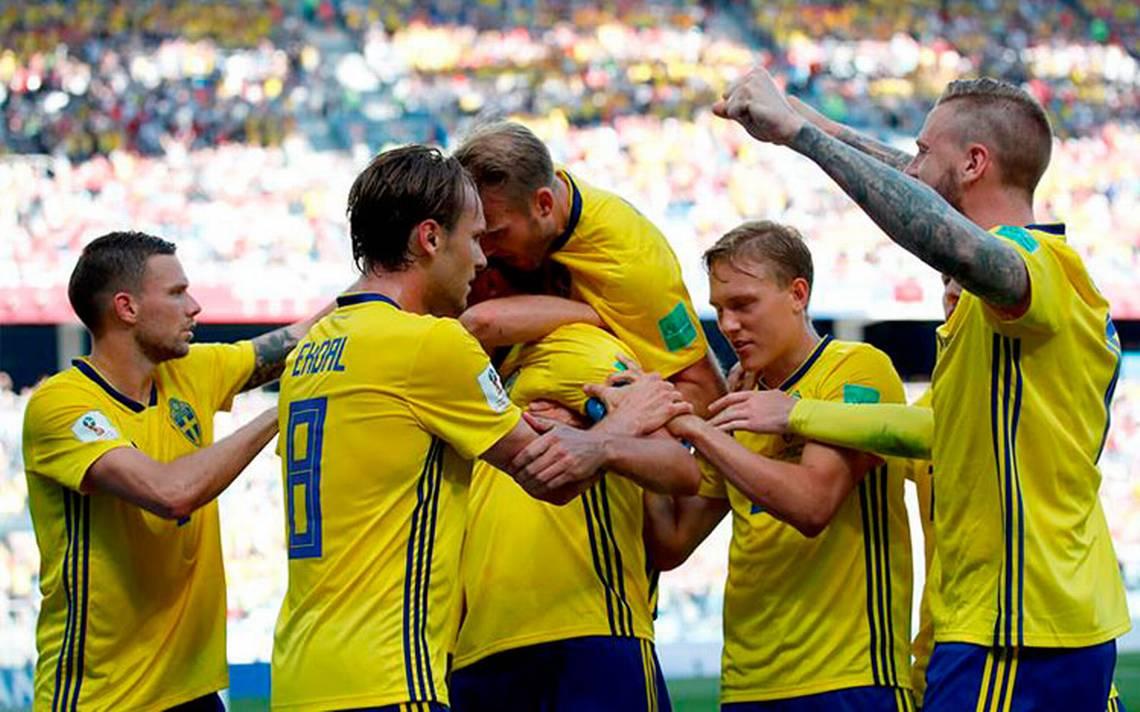Suecia gana a Corea del Sur y lidera junto a México el Grupo F