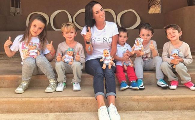 ¡Otra vez mamá! Inés Gómez Mont planea a su sexto hijo