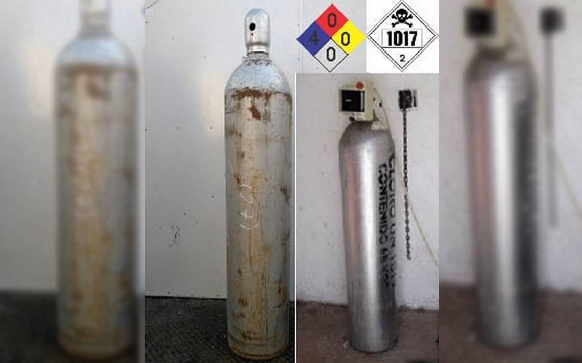 Roban cilindro que contiene sustancia peligrosa en Celaya
