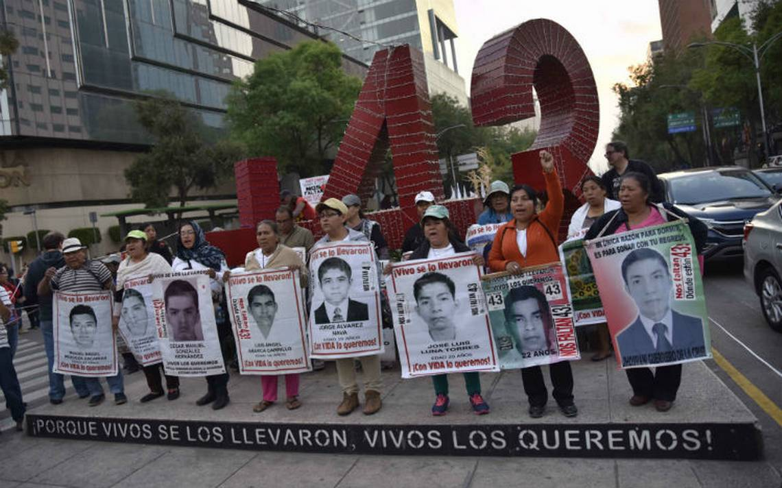 ONU llama a México a castigar abusos a DH contra detenidos en caso Ayotzinapa