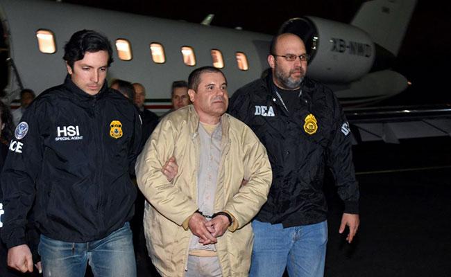 Policía que participó en captura de El Chapo es trasladado a Washington