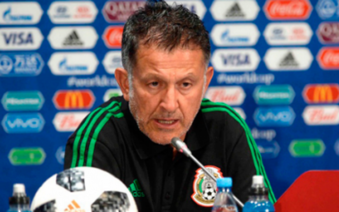Juan Carlos Osorio define alineación de la Selección de México para el partido contra Corea del Sur