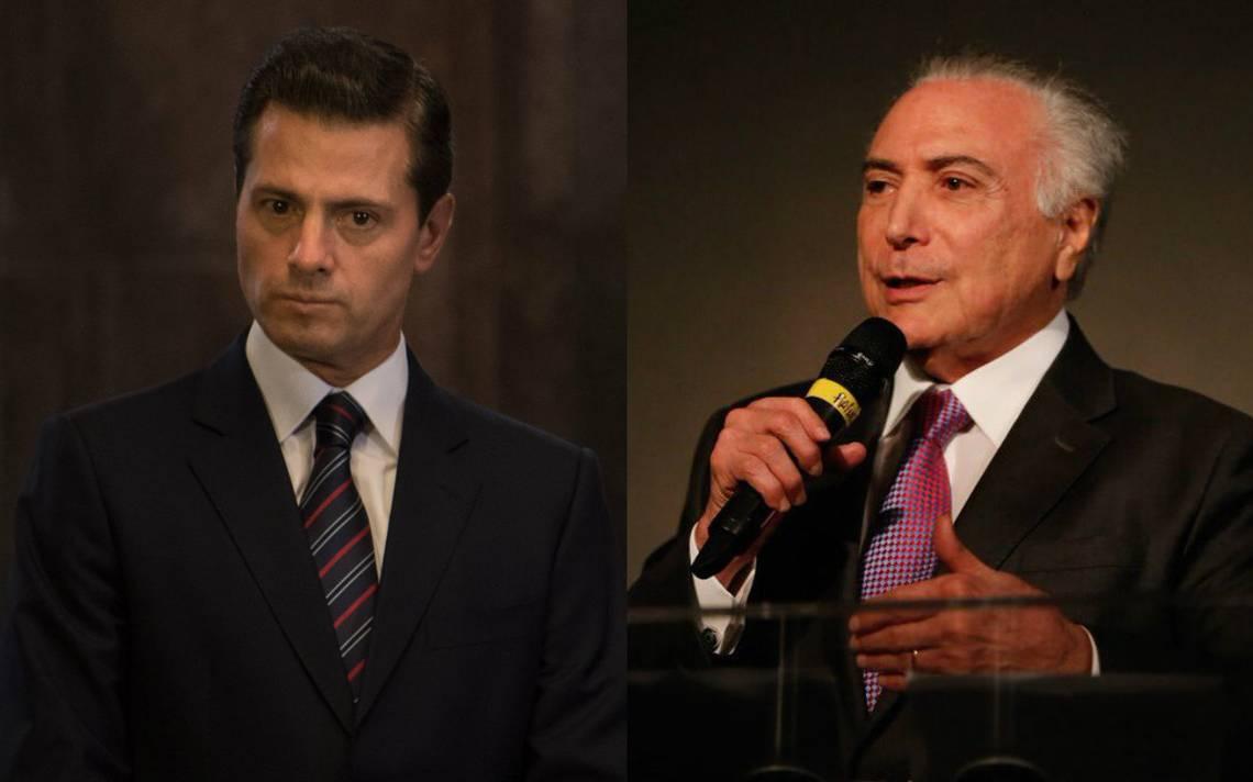 Peña Nieto se reunirá con presidente de Brasil, en Cumbre Alianza del Pacífico