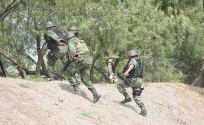 Despliegue militar en Reynosa, tras ataque