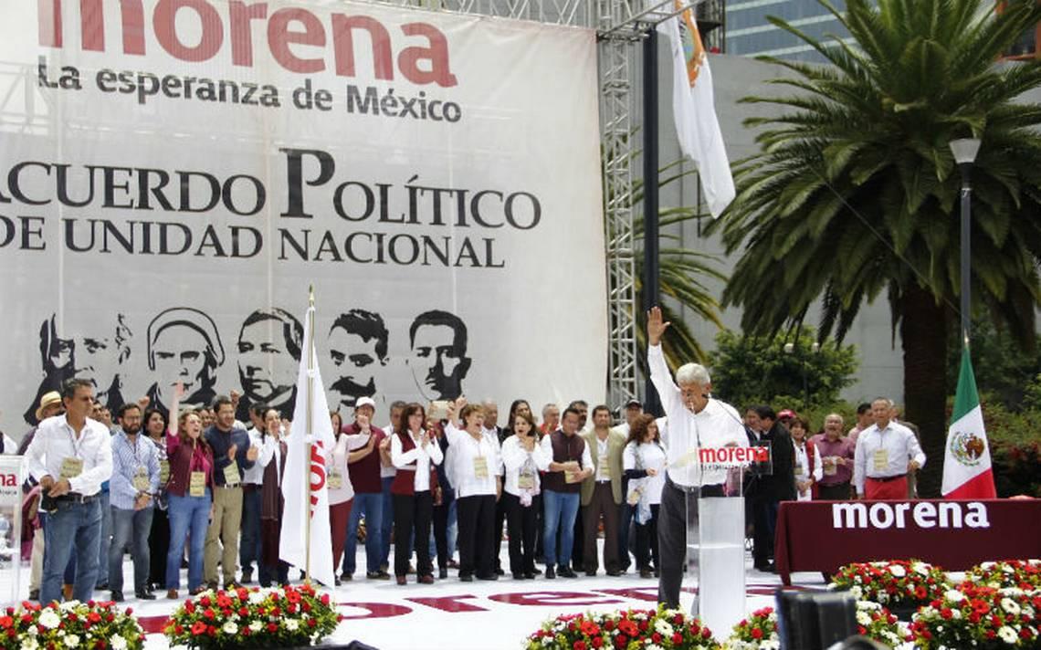 Firman acuerdo político con AMLO de cara al 2018