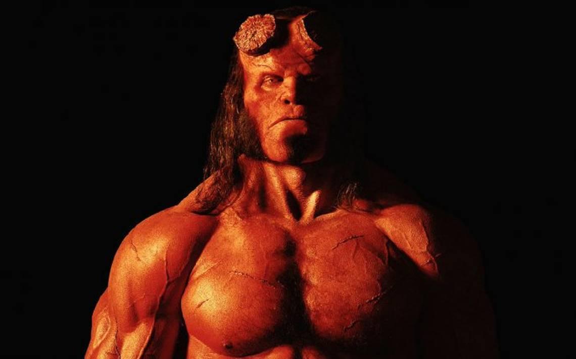 Más infernal, así es el nuevo póster de Hellboy