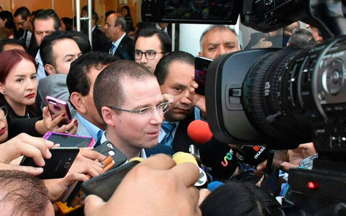 Difusión de video de la PGR, vulgar guerra sucia en mi contra: Ricardo Anaya
