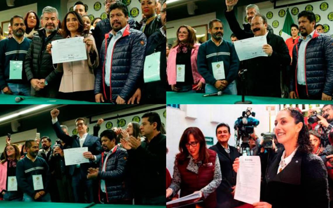 Ellos son los aspirantes a la candidatura para Jefe de Gobierno de la CDMX