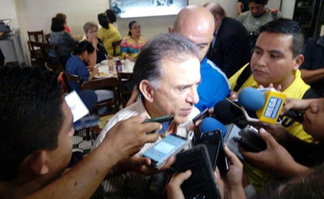 Veracruz podría salirse del convenio de coordinación fiscal, dice el gobernador Yunes
