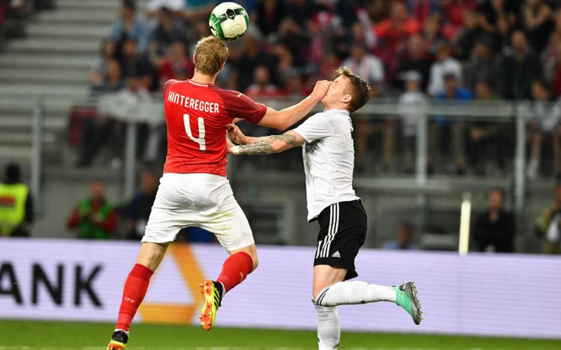 Austria sorprende y vence a Alemania en amistoso