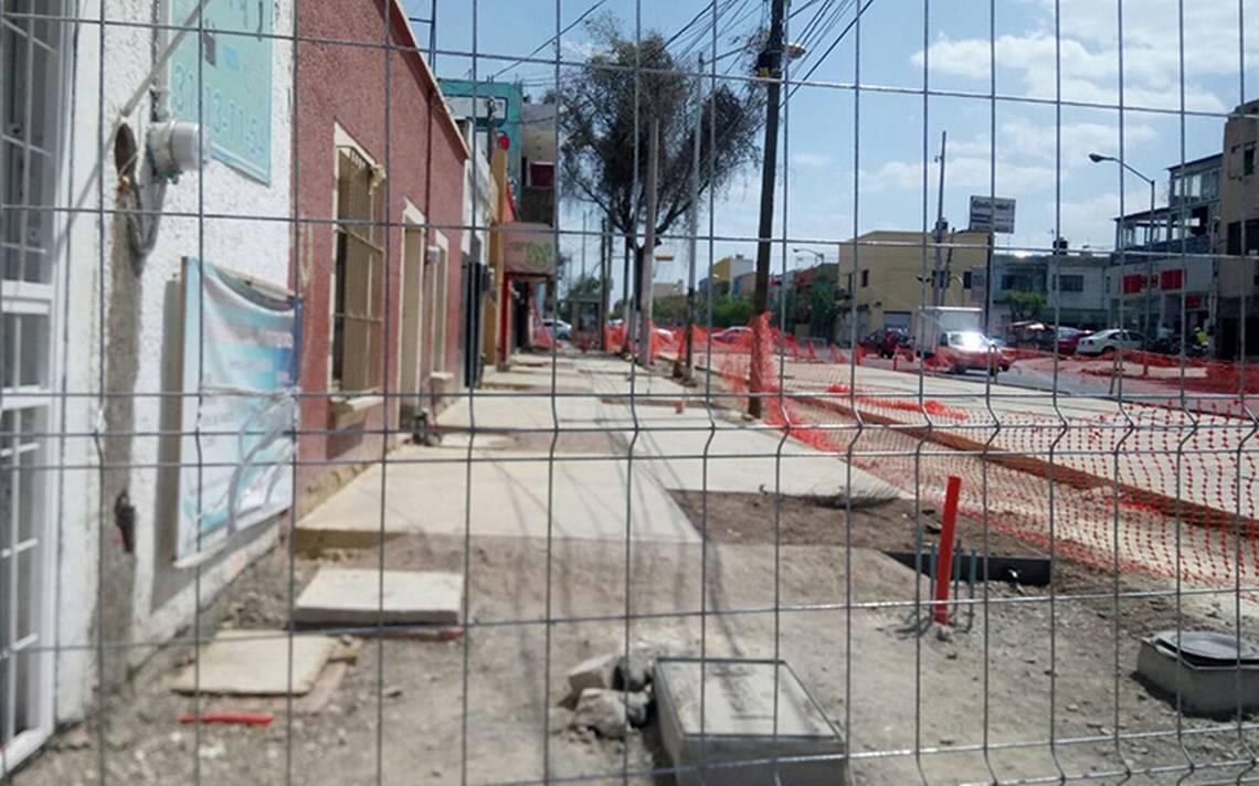 Comercios en quiebra por la construcción de la Línea 3 en Guadalajara