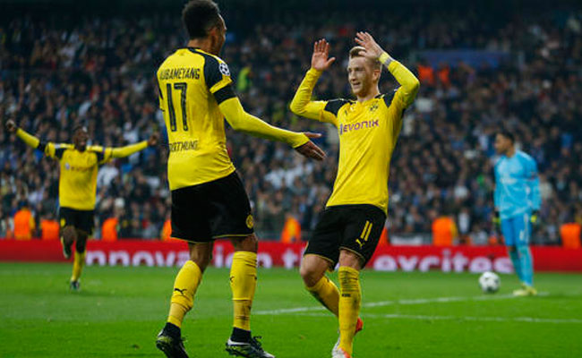 Dortmund empata al final y deja al Real Madrid segundo de grupo