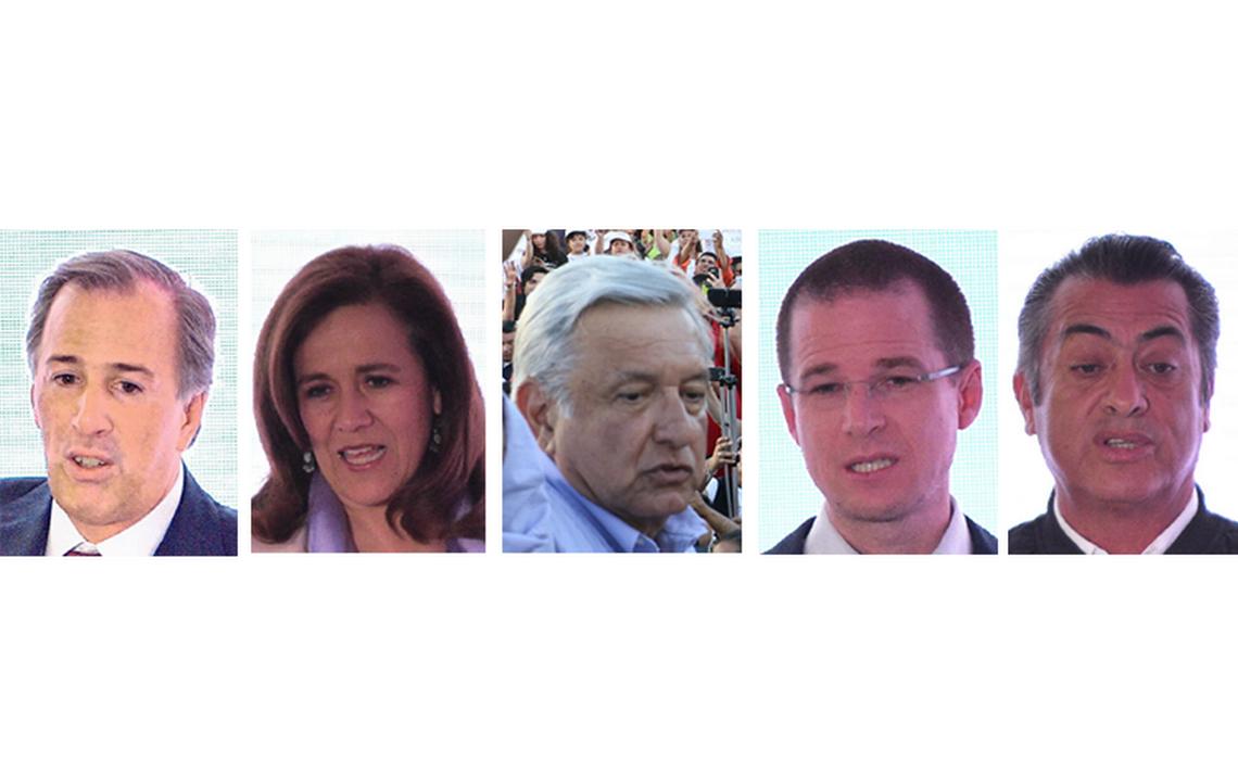 Candidatos se preparan para participar en primer debate presidencial