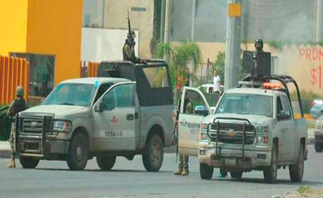 Abaten a delincuente y aseguran armas en Tamaulipas