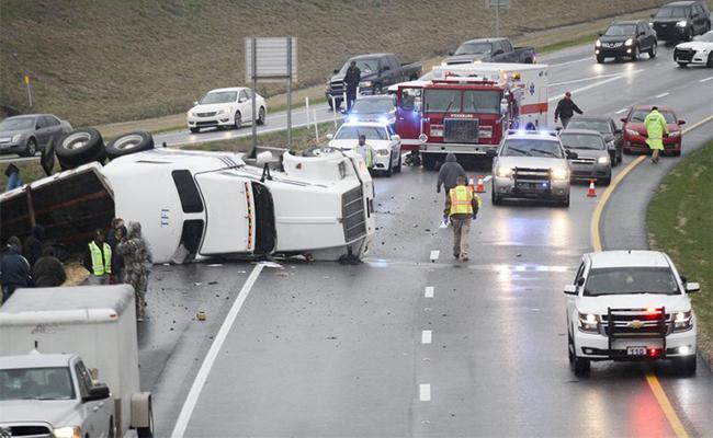 Tormenta invernal provoca accidentes en Carolina del Norte