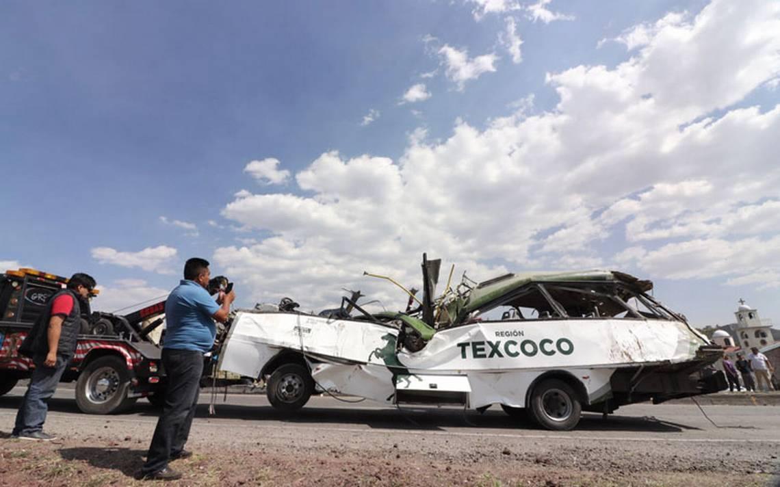 Línea de camiones de Texcoco cumplirá con indemnizaciones tras accidente
