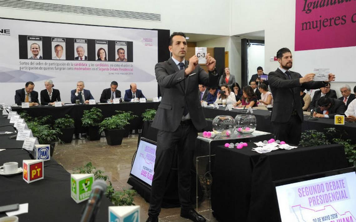 Margarita Zavala abrirá segundo debate presidencial en Tijuana