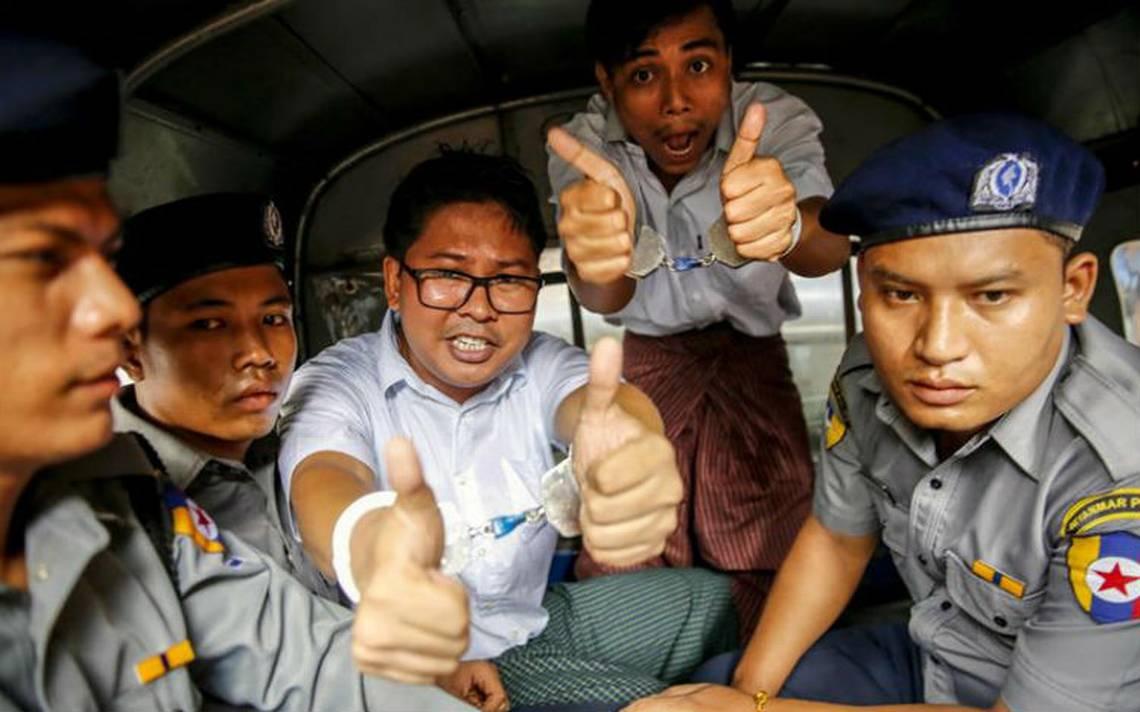 ONU pide libertad de los dos periodistas condenados en Myanmar