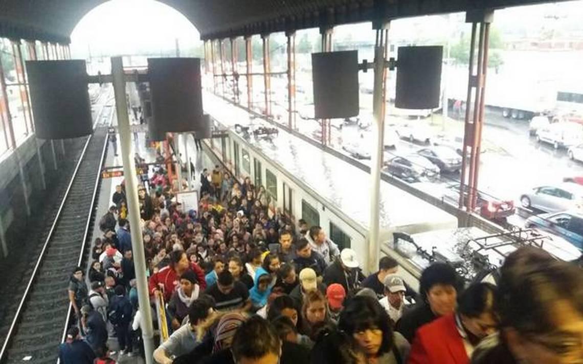 Restablecen servicio en Línea A del Metro tras afectaciones por lluvia