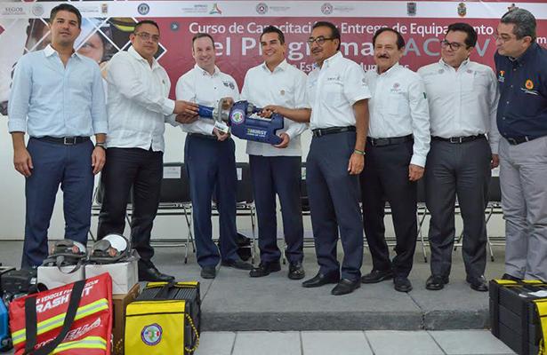 Se instalará en Campeche centro peninsular de gestión de riesgos