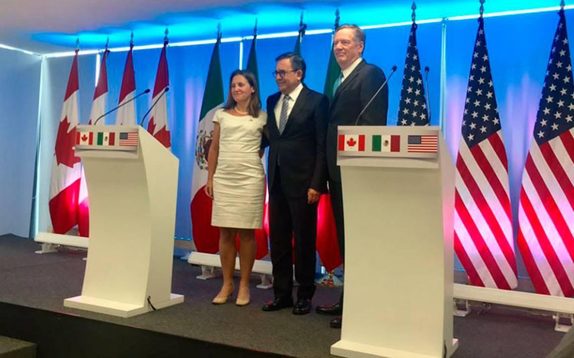 Primeros resultados de TLCAN se darán en Canadá: Guajardo