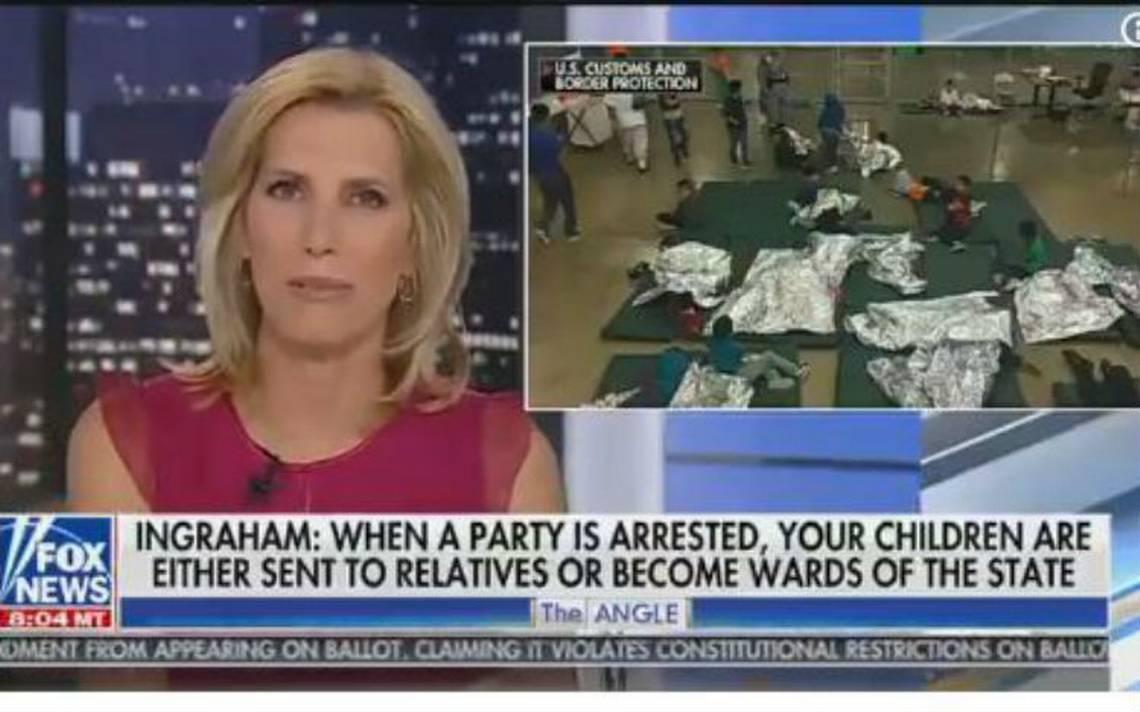 """Presentadora de Fox News dice que los centros de detención de niños migrantes son como """"campamento de verano"""""""