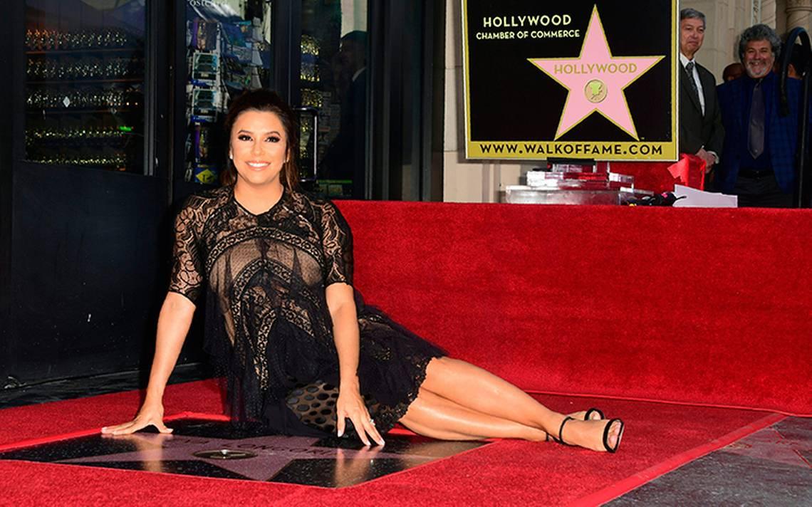Un Paseo de la Fama muy latino: así recibió Eva Longoria su estrella en Hollywood