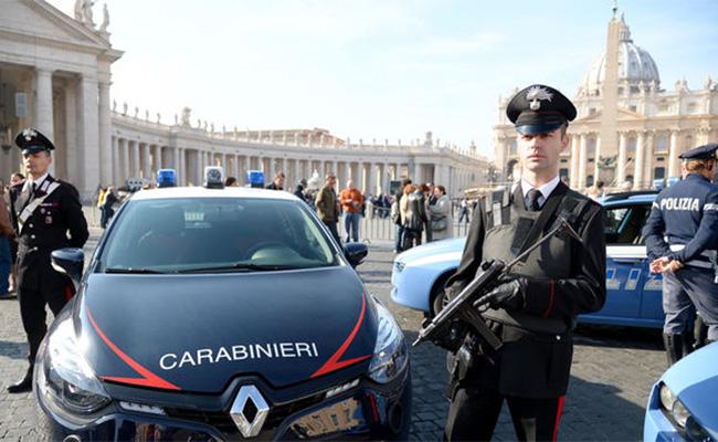 Autoridades emiten alerta máxima de seguridad en Italia