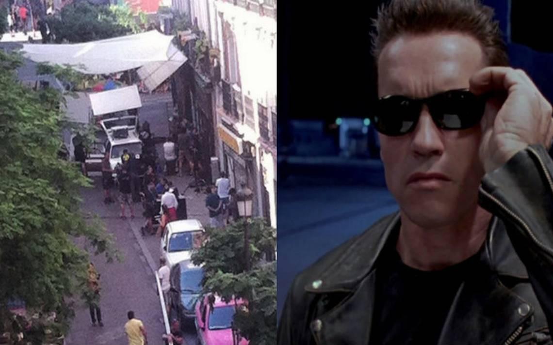 Terminator invade calles de España y Sarah Connor lo acompaña