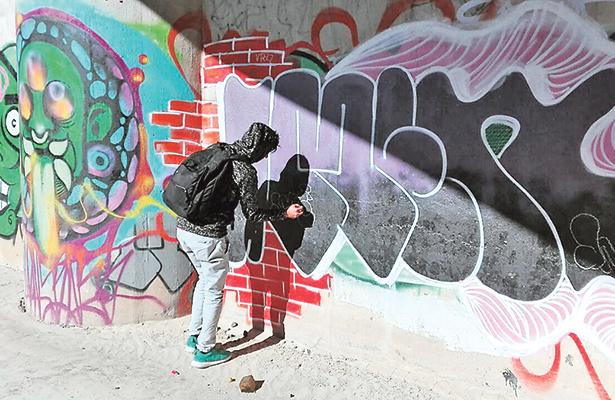 Muro, espacio para la protesta a través de la expresión