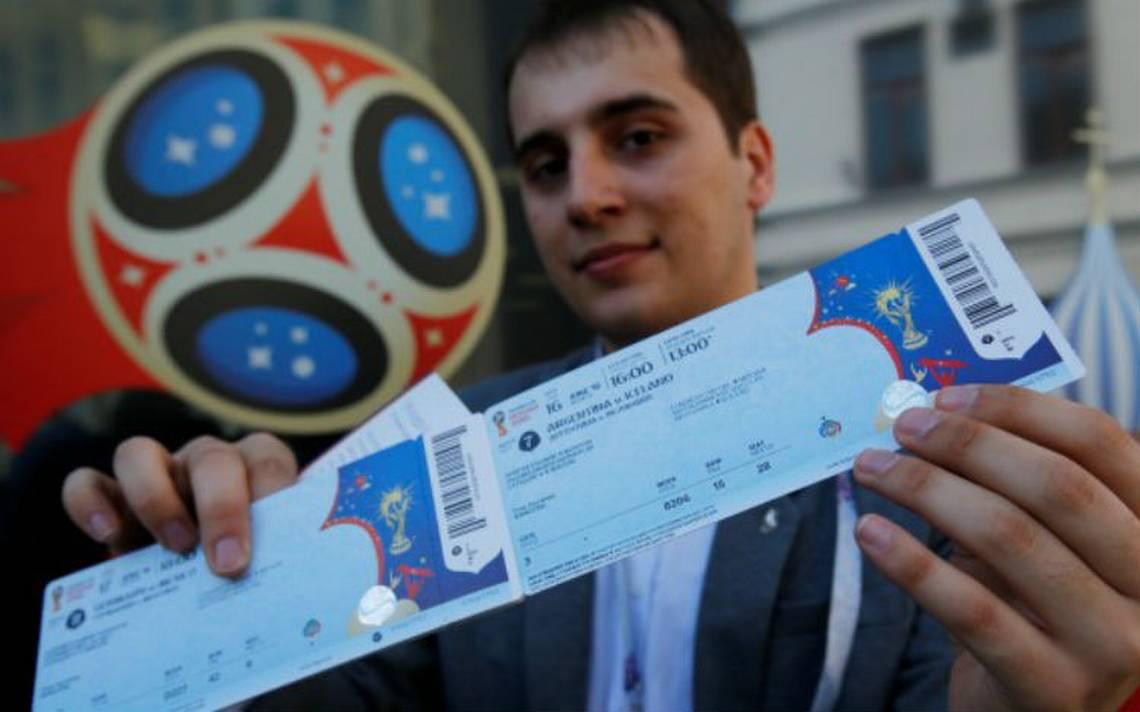 Detectan en México venta ilegal de boletos para el Mundial Rusia 2018