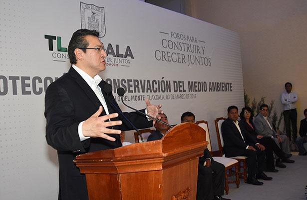Planean Tlaxcala y Puebla  proyectos ambientales