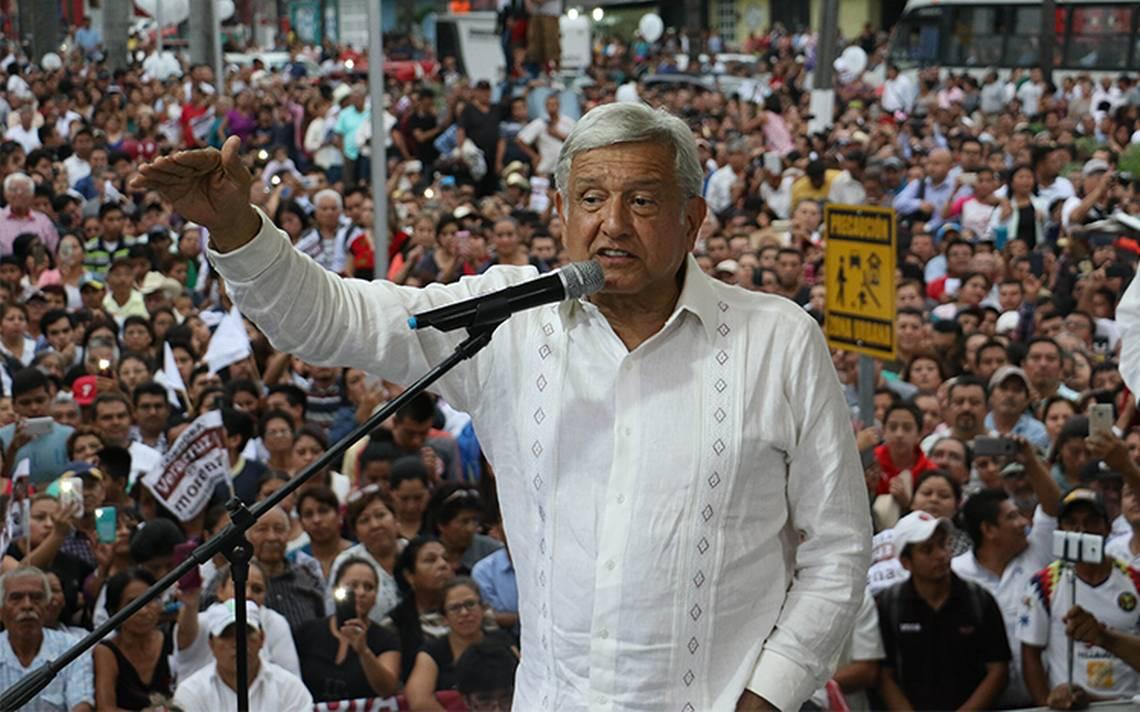 Difunden falsos mensajes de cancelaciA?n de evento de AMLO en Tamaulipas