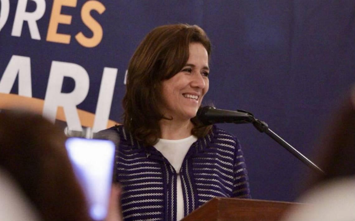 """Sobre INE y el Tribunal, Margarita Zavala dice que """"un día fueron garantistas, al otro día se les olvidó"""""""