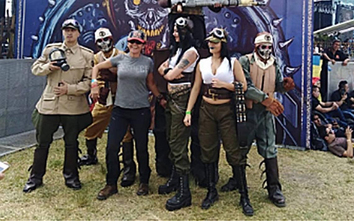 AsA� se vive el Force Fest, el poder del metal explota en TeotihuacA?n