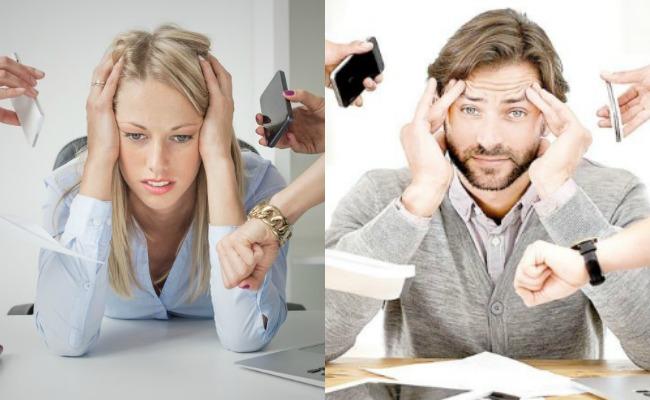 Estrés laboral afecta la concentración y la salud digestiva, revela estudio