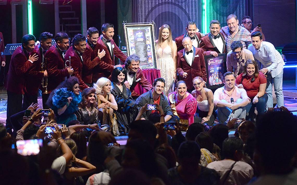 Celebran las tres mil 200 funciones de Mentiras el musical