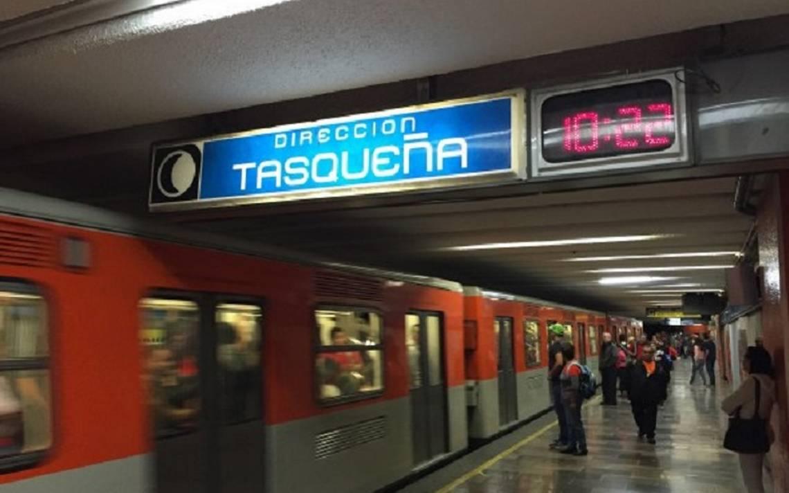 Hombre de avanzada edad muere en pasillos del Metro Tasqueña