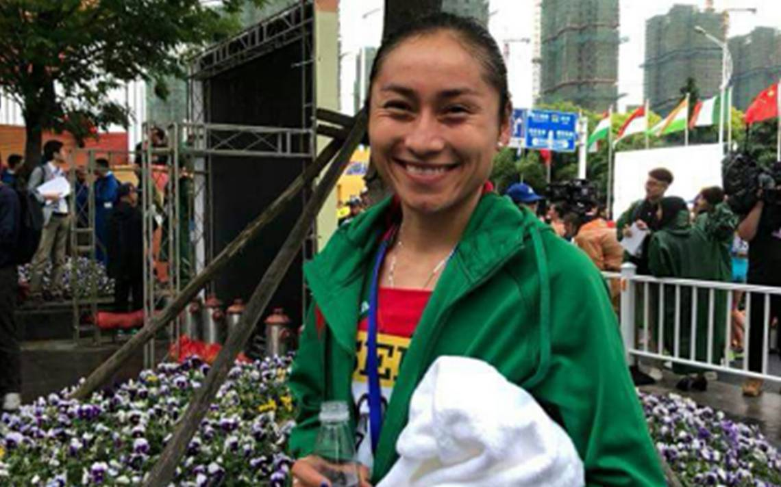 Mexicana Lupita González se lleva medalla de oro en Mundial de Marcha