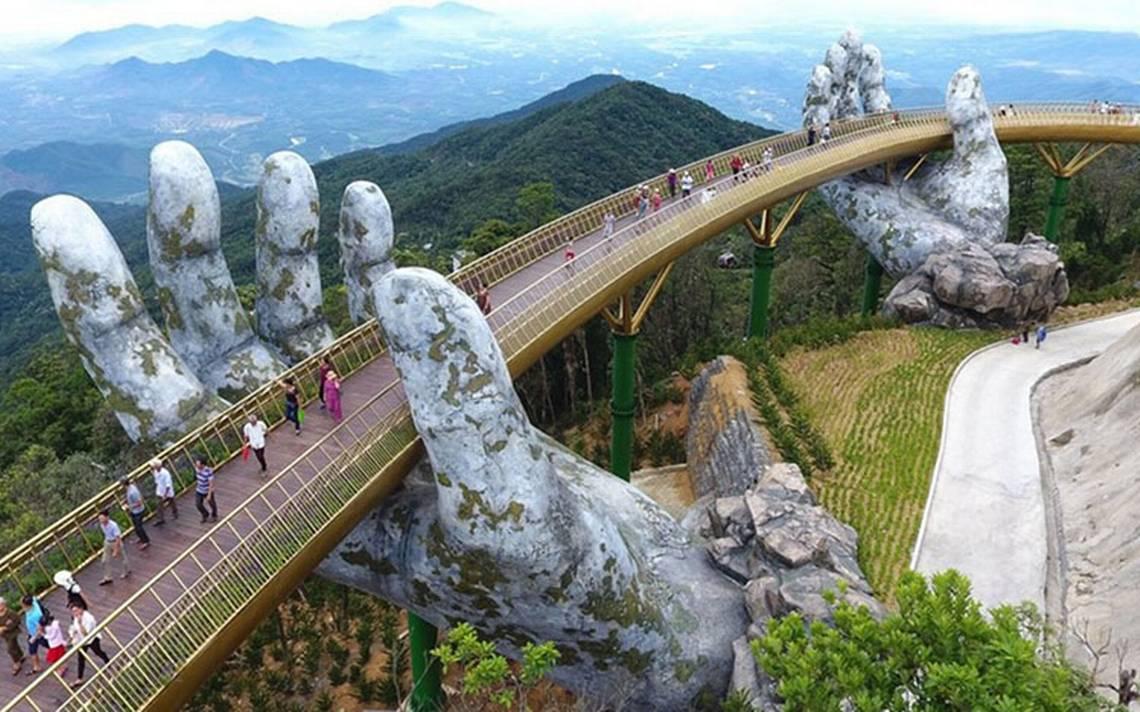 En manos de los dioses: aquí el nuevo puente que se hizo viral y te hará viajar a Vietnam