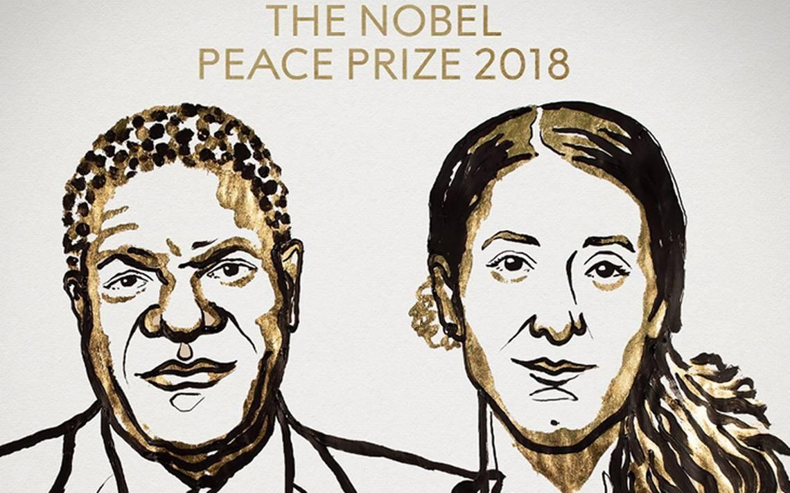 Nobel de la Paz para Mukwege y Murad por combatir la violencia sexual