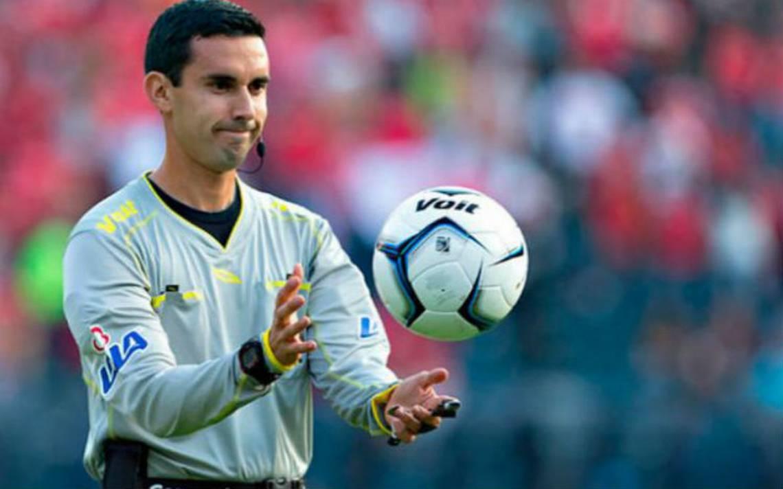 César Ramos representará al arbitraje mexicano en Rusia 2018