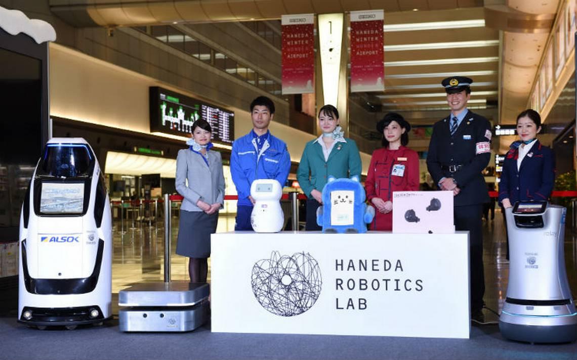 Robots nipones recibirán a visitantes en los JO del 2020